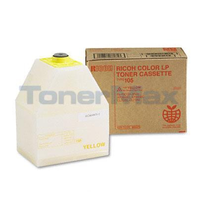 RICOH AP3800 TYPE 105 TONER CASSETTE YELLOW